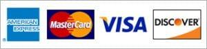 Credit car payment method logos - Custom Cup Sleeves Smyrna, TN