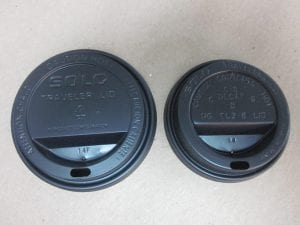 Black lids for hot paper cups - Custom Cup Sleeves Smyrna, TN