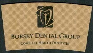 Borsky Dental Group custom coffee cup sleeve - Custom Cup Sleeves Smyrna, TN
