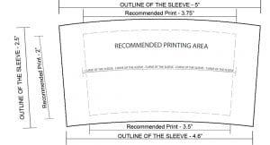 Design template - Custom Cup Sleeves Smyrna, TN