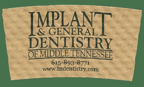 black on natural (implant dentistry)