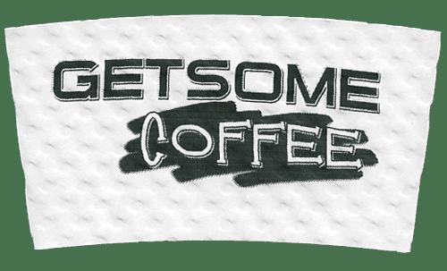 black on white (getsome coffee)
