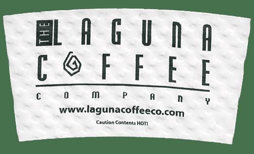 black on white (laguna coffee)