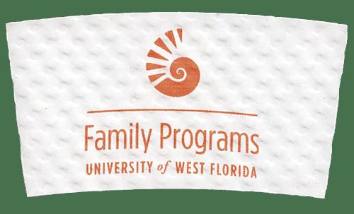 orange on white (university of west florida)