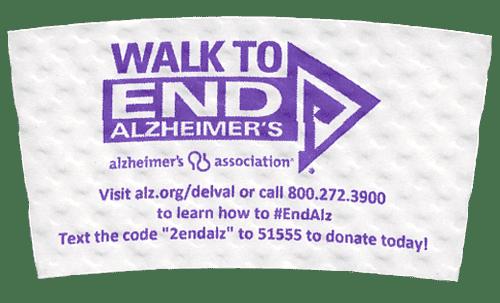 purple on white (walk to end alzheimer's)
