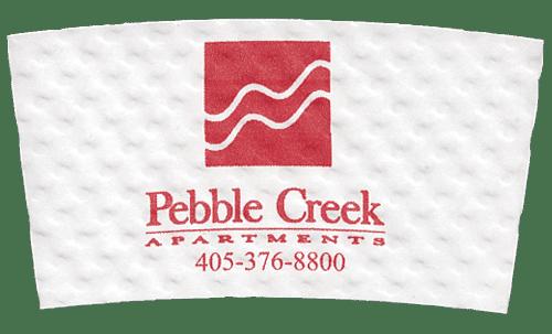 red on white (pebble creek apts)